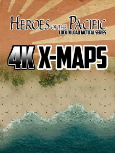 Lock 'n Load Tactical : Heroes of the Pacific – 4K X-Maps